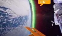 (ISS) Dünya ve Samanyolu manzaraları!video