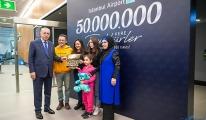 Istanbul Airport, passengers Reaches 50 Million