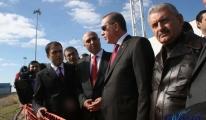 Erdoğan (HABOM) maketini ve inşaat çalışmalarını inceledi