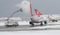 İstanbul'da Beklenen Kar Uçuşlarda İptalleri Getirdi