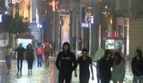 İstanbul'da yağmur etkili oluyor#video