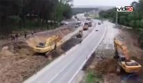 İstanbul Havalimanı bağlantı yolları genişliyor!video