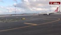 Istanbul Havalimanı İniş ve Taxi!video