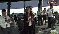 İstanbul Havalimanı kulesi ilk iniş!video