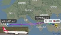 İstanbul Havalimanı'na inişte pas geçip,(ESB) indi