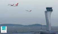 İstanbul Havalimanı'na Uçak 1,5 saat inemedi!