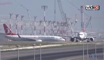 İstanbul Havalimanı uçuşa geçti! video