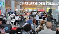 İstanbul Havalimanı'nda bayram tatili yoğunluğu#video