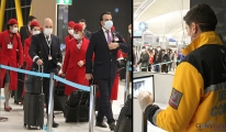 video İstanbul Havalimanı'nda  koronavirüs testi