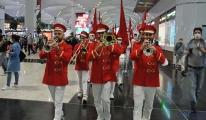 video İstanbul Havalimanı'nda Cumhuriyet Bayramı coşkusu