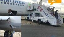 video İstanbul Havalimanı'nda ilk toprağa çıkma...