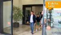 Havalimanı'nda İmamoğlu VIP salonundan çıktı!