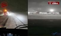 İstanbul Havalimanı'nda Kar Yağışı!video