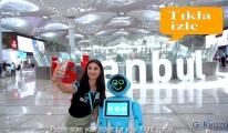 video İstanbul Havalimanı'nda robot testleri başladı!