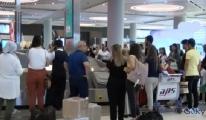 İstanbul Havalimanı'nda seçim hareketliliği