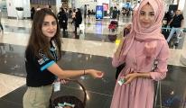 İstanbul Havalimanı'nda Turistleri şaşırtan çikolata