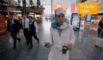 video İstanbul Havalimanı'nda uçağını kaçırdı!