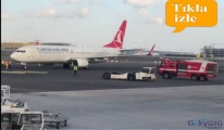 video İstanbul Havalimanı'nda yakıt sızıntısı!
