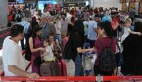 İstanbul Havalimanı'nda yolcular perişan oldu!
