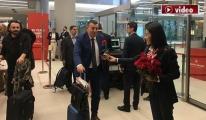 İstanbul havalimanı'ndan Bakü'ye ilk uçuş!video