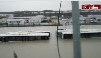 video İstanbul Havalimanı'ndan su baskınına açıklama