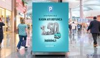 İstanbul Havalimanı otoparkı yüzde 50 indirimli(video)