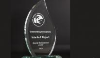 İstanbul Havalimanı'na Uluslararası Ödül...