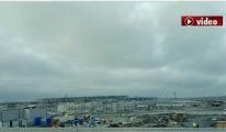 İstanbul havalimanına yolculuk!video