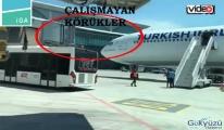 İstanbul Havalimanı'nda körük arızası giderilemiyor!