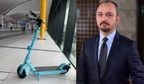 İstanbul Havalimanı'nda scooterlar hizmete girdi