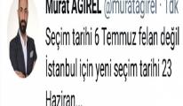 İstanbul Seçime gidiyor!