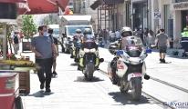 İstanbul'un motosiklet ambulansları ilk kez görüntülendi