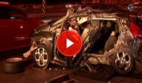 İstanbul'da Feci Kaza : 1 Ölü, 3 Yaralı