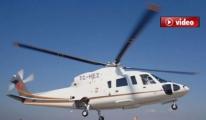 İşte düşen helikopter