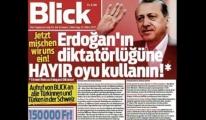 İsviçre'nin Blick Gazetesi Haddini Aştı