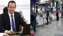 İzmir Adnan Menderes'te uçuşlar başarıyla başladı
