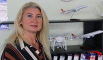 İzmir Enternasyonal Fuarı'nda kıran kırana drone yarışı