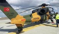 Jandarma ATAK helikopterini teslim aldı