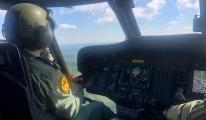 Jandarmadan helikopter desteğiyle trafik denetimi