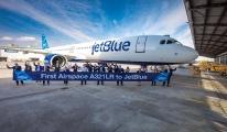 JetBlue, ilk A321LR siparişini teslim aldı#video