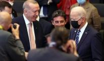 Joe Biden,Erdoğan'ın yanına giderek selam verdi#video
