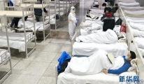 Kabin hastane inşaatını 100 milyon kişi canlı izledi