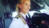 Kadın pilot Dünya'yı keşfediyor