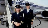 Kadın pilotlar, 30 yıldır Lufthansa ile uçuyor