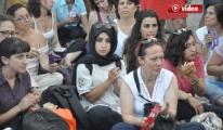Kadınların 'Barış İçin Ses Çıkart' Etkinliği
