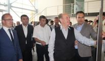 Kadir Topbaş Çan'da Kale Seramik Fabrikası'nı gezdi.