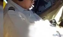Kahvaltı yapmayan öğrenci pilot uçuşta bayıldı!