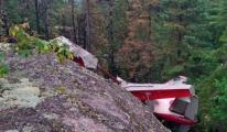Kanada'da Uçak Düştü: 6 Ölü!