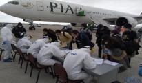 Kanada'dan 203 kişi,uçakla Trabzon Havalimanı'na geldi