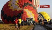 Kapadokya'da  Balonlar Sert İniş Yaptı 49 Turist Yaralandı